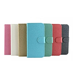 For iPhone 6 Case / iPhone 6 Plus Case Wallet / Card Holder / with Stand / Flip Case Full Body Case Solid Color Hard PU LeatheriPhone 6s