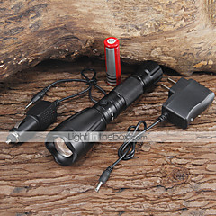 LED Rechargeable Flashlight Torch 2200LM CREE XM-L T6 with Battery Charger