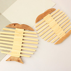 Bamboo Fish Type Heat Insulation Eat Mat