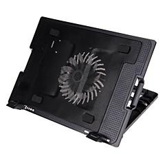 "SHUNZHAN HH646 9 ""-17"" notebook Mute six radiator cooling fan base stand"