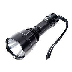 Ultrafire® LED Flashlights/Torch / Handheld Flashlights/Torch LED 1000 Lumens 5 Mode Cree XP-E R2 18650 Camping/Hiking/CavingAluminum