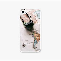 Geographic Pattern PC Back Case for iPhone5/5s