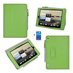 pu skórzane etui jednolite kolory pełne ciało przypadki z podstawą dla Acer Iconia a1-810 + ekran + ochronna Rysik