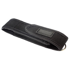 Mini Flashlight Case Cover (Black)