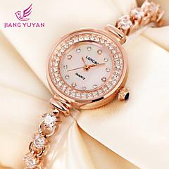 rhinestones cheia relógios de luxo brilhante mulheres moda relógio de quartzo relógio de pulso vestido