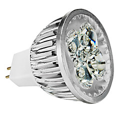 4W GU5.3(MR16) LED Spotlight MR16 4 High Power LED 360-400 lm Warm White / Cool White / Natural White Dimmable DC 12 / AC 12 V