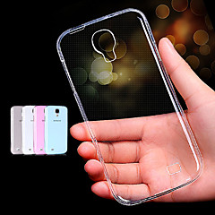 BIG D Clear TPU Soft Case for Samsung Galaxy S4 Mini I9190(Assorted Color)