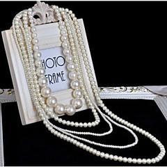 New Arrival Fashional Popular Multilayer Pearl Necklace