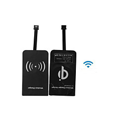 New Qi Wireless Charger Charging Receiver Charging Adapter Receptor for Samsung /HTC/Xiaomi Micro USB Mobile