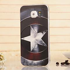 magi spider®shield lättnad högkvalitativ tpu mjukt tillbaka fallet täcker med skärmskydd till Samsung Galaxy s6