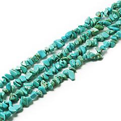 """beadia cuentas de piedra turquesa 5-8mm forma irregular perlas sueltas DIY joyas pulsera collar de ajuste 34 """"/ str"""