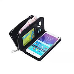 suunniteltu erityisesti split PU nahka lompakko tapauksessa koko kehon kotelo Samsung Galaxy Huom4