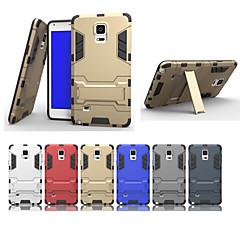 Για Samsung Galaxy Note Ανθεκτική σε πτώσεις / με βάση στήριξης tok Πίσω Κάλυμμα tok Πανοπλία PC Samsung Note 5 Edge / Note 5 / Note 4