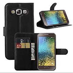 litchi jurul suport deschis telefonul din piele carte de portofel potrivit pentru Samsung Galaxy J1 (Color asortate)
