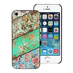 o caso do projeto da flor duro para o iPhone 5 / 5s