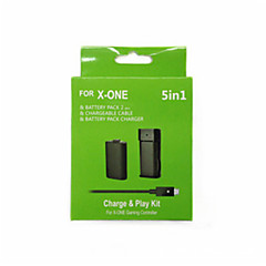 5 in 1 Rechargeable USB 2*2800 mAh Batteries & Chargers for Xbox One/Xbox 360 Wireless Controller