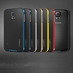 Protective Metal Bumper Frame with Back Cover for Samsung Galaxy S5 i9600 (Assorted Colors)