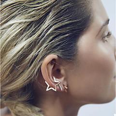 Earring Star Stud Earrings / Ear Cuffs Jewelry Women Wedding / Party / Daily / Casual Copper 2pcs