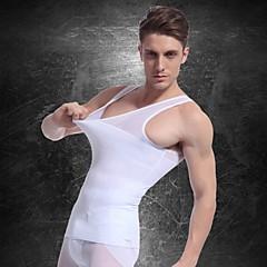 miehet laihtumiseen alusvaatteet elin shaper liivit vyötärö takki paita yritys masu vatsa rinta