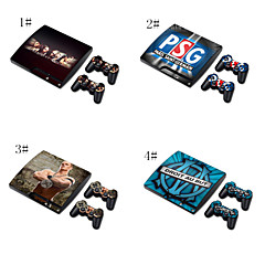 designer hud for sony play station ps3 slim system& fjernkontroller