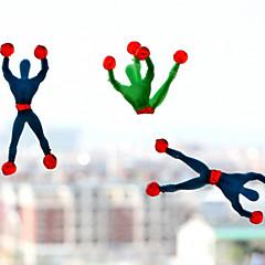 (5 pièces) viscosité surhomme spiderman d'escalade (couleur aléatoire)