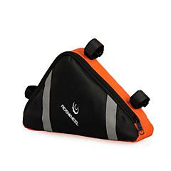 Bisiklet Çantası 10-20LLBisiklet Çerçeve Çantaları Su Geçirmez / Yansıtıcı Şerit / Giyilebilir Bisikletçi Çantası Naylon Bisiklet Çantası