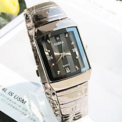 Men's New Explosion Round Dial Steel Bracelet Fashion Business Quartz Watch