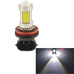 carking ™ h8 / h11 3 * kolby doprowadziły 1250ml 6000k białe światło lampy led reflektor światła przeciwmgielne