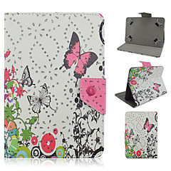 Diamante Pattern High Quality PU Leather with Stand Case for 10 Inch Universal Tablet