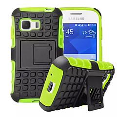 Mert Samsung Galaxy tok Ütésálló / Állvánnyal Case Hátlap Case Páncél PC Samsung Young 2 / Grand Prime