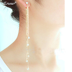 Euner® Exaggerated Earring/ Tassel Earrings Eardrop/Super Long Earrings