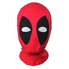 Máscara Super-Heróis Fantasia Zentai Fantasias de Cosplay Patchwork Máscara Elastano Licra Unisexo Dia Das Bruxas Natal