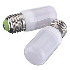 3W E26/E27 LED-maïslampen T 27 SMD 5730 420 lm Warm wit / Koel wit DC 12 V 2 stuks