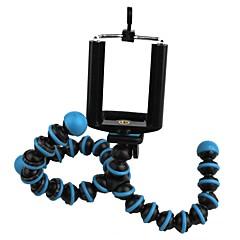anneau bleu soutien de poulpe support de téléphone mobile paresseux appareil photo numérique trépied 2 jeu