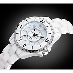 Women's Fashion Diamante High Imitation Ceramic Quality Japanese Quartz Wrist Watch Cool Watches Unique Watches