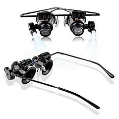 20x suurennuslasi suurennuslasilla silmä lasit luupin linssi kultaseppä katsella korjaus työkalu