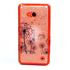 Mert Nokia tok Minta Case Hátlap Case Pitypang Puha TPU Nokia Nokia Lumia 640