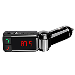 Double USB Bluetooth Hands-free Car Charger U Disk MP3 AUX FM Transmitter