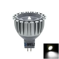 Spot Blanc Chaud / Blanc Naturel BRELONG 1 pièce GU5.3 5 W 1 COB 450 LM AC 12 V