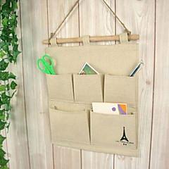 Tárolózsákok / Akasztók Textil / Fa val vel 1pc/opp bag , Funkció azMert Ékszerek / Nyakkendők / Alsónemű