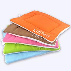 colore solido 50 x 42 centimetri animali caldi pad dormire tappeto&Letto per cani&gatti (colori assortiti)