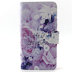 Good Life Pattern PU Leather Phone Case For G355/G357/G360/G386F/G850F/G3500/G5308
