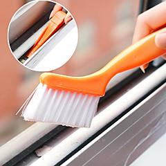 fönsterspårrengöringsborste med liten spade utformad hem (slumpvis färg)
