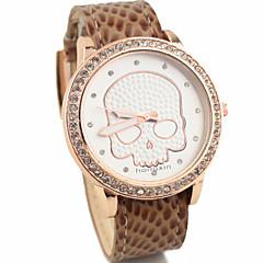 Women's Fashion Style Skeleton Quartz Analog Wrist Watch