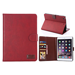 Crazy Horse Style PU Leather Case Card Slots & Wallet with Holder for iPad mini 2/3 (Assorted Colors)