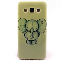 Käyttötarkoitus Samsung Galaxy kotelo kotelot kuoret Kuvio Takakuori Etui Elefantti TPU varten Samsung A5 A3