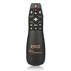 mini souris sans fil air rii rt-mwk14 r900 2,4g voler souris avec pointeur laser pour répondre à des conférences