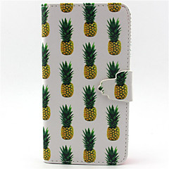 Pineapple Pattern PU Leather Phone Case For G355/G357/G360/G386F/G850F/G3500/G5308