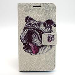 Dog Pattern PU Leather Material Card Full Body Case for Samsung Galaxy  S6 edge S6 S3 S4 S5 S3Mini S4Mini S5Mini