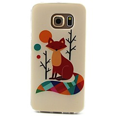 fox mønster TPU-materiale telefon tilfelle for samsung galaxy s3 s4 s5 s6 s3mini s4mini s5mini s6 kanten